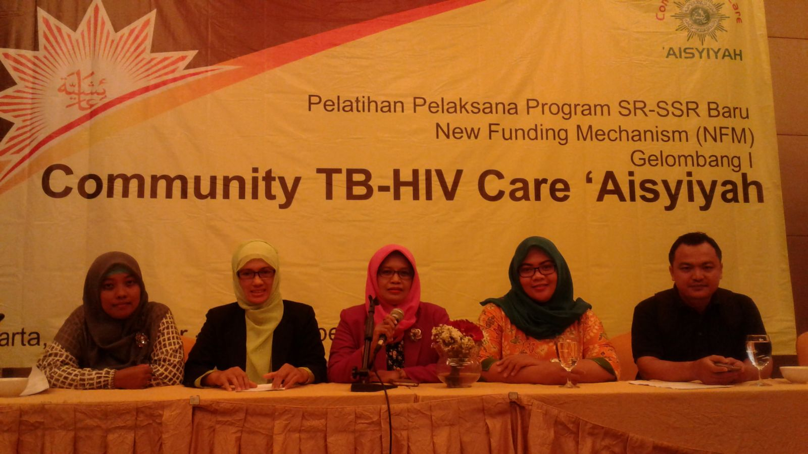 Pelatihan Pelaksanaan Program SR-SSR Community TB-HIV Care